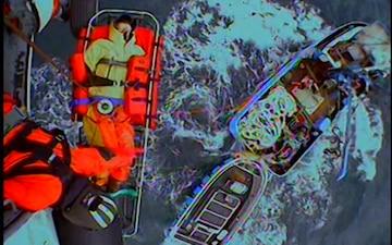 Coast Guard medevacs man with injured ankle in Shelikof Strait, Alaska