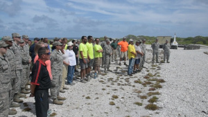 Wake Island Chamorro Memorial Ceremony
