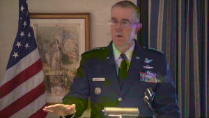 Stratcom Commander Speaks at Space Conference