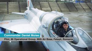 #WeAreNATO - The Romanian Jet Pilot