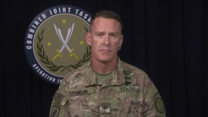Col. Ryan Dillon interview with CNN