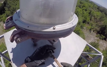 Aids to Navigation Team Jacksonville Beach: Range Light Replacement
