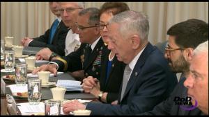 Defense Secretary Meets With Ukrainian President