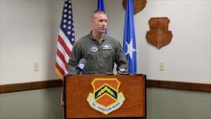 56th FW Press Conference on F-35 flying status