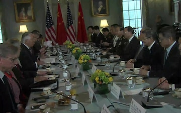 Secretary of State Tillerson and Secretary of Defense Mattis Host the U.S.-China Diplomatic and Security Dialogue