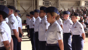 Altus AFB 2017 Change of Command