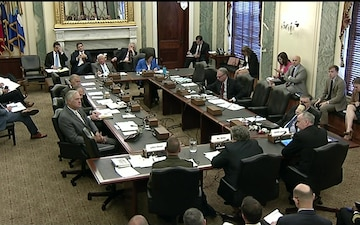 Senate Armed Services Committee Hearing on Navy Shipbuilding