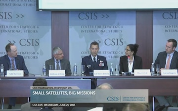 DIUx Official Joins Satellite Panel Discussion at CSIS