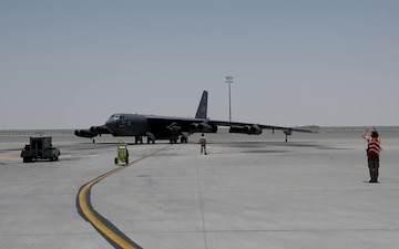 23d AMXS launches 401st expeditionary B-52 sortie without a maintenance cancellation.