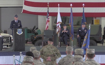 633 Air Base Wing Change of Command Ceremony