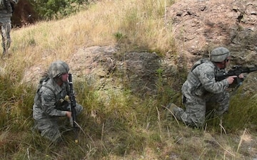 8th SFS members train to Defend the Base