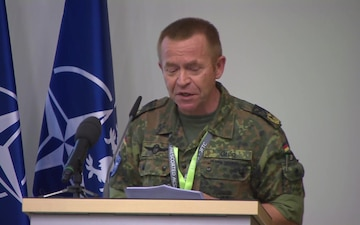 The North Atlantic Council visits Poland - Major General Wilhelm Grün Remarks