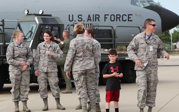 190th Airmen Return Home from Pacific