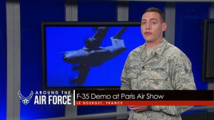 Around the Air Force: F-35 Paris Demo / Pacific Angel 2017