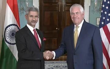 Secretary Tillerson Meets Foreign Secretary of India