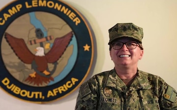 Senior Chief Petty Officer Doreen Hollowell - Arizona Diamondbacks