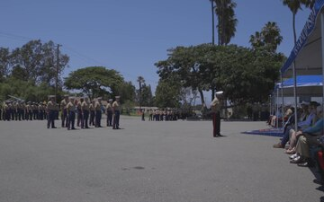 Division Change of Command