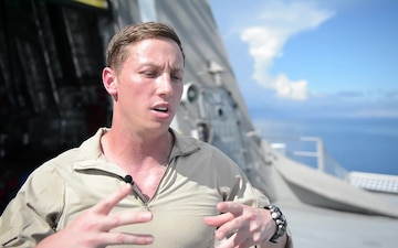 Chief Firecontrolman talks about VBSS training in Philippines