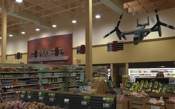 Japanese local creates model Styrofoam aircrafts for Iwakuni commissary (B-Roll)