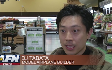 PACIFIC UPDATE: Japanese local creates model Styrofoam aircrafts for Iwakuni commissary