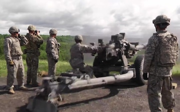 86th Infantry Brigade Combat Team (Mountain) Artillery Training