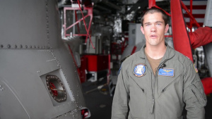 LT Danny Whitsett Talks About the Firescout UAV Aboard USS Coronado (LCS-4)