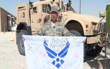 U.S. Air Force Senior Master Sgt. Joe Dixon