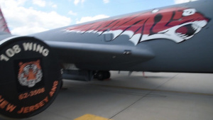 141st Painted KC135 Timelapse and BRoll