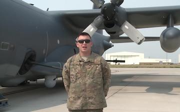 Senior Airman Brandon Wicks