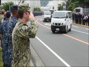 Pacific Update: USS Fitzgerald Memorial Service