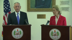 Mattis Makes Statement Following Meeting With German Counterpart