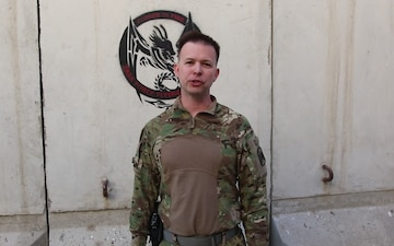 Lt. Col. Sean O'Connell Independence Day Greeting from Afghanistan