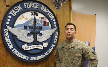 Cpl. Keith Cabungcal Independence Day Greeting from Afghanistan