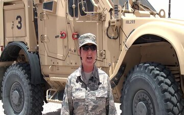 U.S. Air Force Senior Master Sgt. Deborah Simpson
