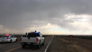 Five-acre Wildfire at Mountain Home AFB