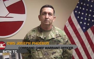 U.S. Warrant Officer Birthday PSA