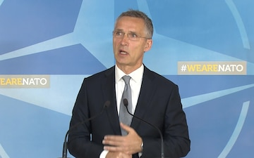 Defence Ministers Meeting: Doorstep by NATO Secretary General