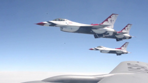 Refueling the Thunderbirds