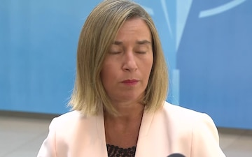 Meetings of NATO Ministers of Defence: Mogherini Doorstep statements