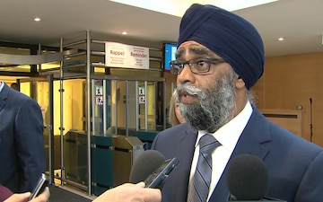 Meetings of NATO Ministers of Defence: Canada Doorstep statements