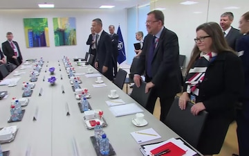 NATO Defence Ministers Meetings: Bilateral Meeting
