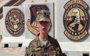 U.S. Air Force Lieutenant Colonel Tammy Street