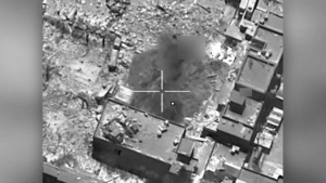 OIR Airstrike Destroys ISIS Tunnel