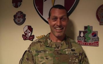 Maj. Travis Robinette