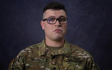 Soldier Spotlight: Specialist Travis Dube