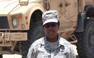 U.S. Air Force Master Sgt. Christina L. Southall
