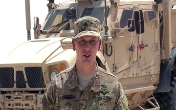 U.S. Army SGT Brandon Krieger