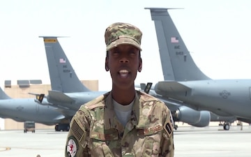 U.S. Air Force Staff Sgt. Marquita Allen