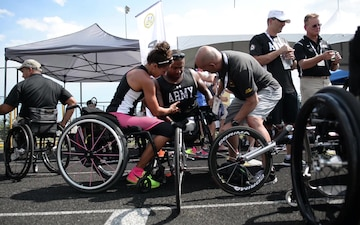 2017 DoD Warrior Games: Track Events B-Roll