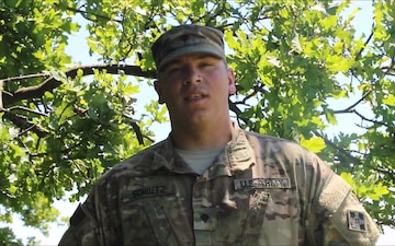SPC Joseph Schultz Fourth of July Shout out